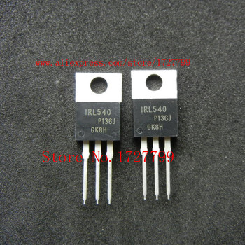 10 adet/grup IRL540NPBF IRL540 IRL540N TO-220 IC