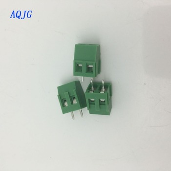 20 pcs PCB Vida Terminal Bloğu Connector KF128-2P pitch: 5.0 MM 3PIN Yeşil 5mm KF128 2 Pins LZ/KF128-2.54/3.5/3.81/5.0/5.08 /AQJG